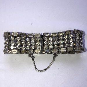 Weiss Vintage Rhinestone Bracelet